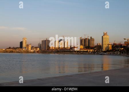 Overview of Luanda, Angola - Stock Photo