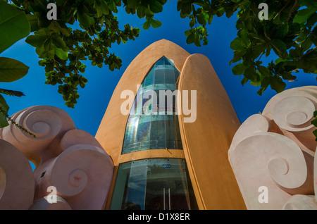 Thap Tram Huong tower in Nha Trang, Vietnam - Stock Photo