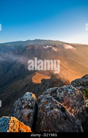 Sunrice from Ahiyo in Tenerife - Stock Photo