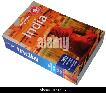 The Lonely Planet guide to India - Stock Photo