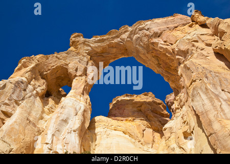 Grosvenor Arch, Cannonville, Grand Staircase-Escalante National Monument, Utah, United States of America, North - Stock Photo