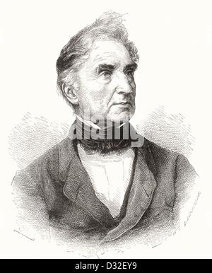 Justus Freiherr von Liebig, 1803 –1873. German chemist. - Stock Photo