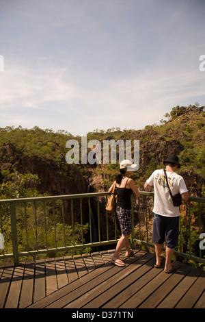 Overlook, Tolmer Falls, Litchfield National Park, Northern Territory, Australia. - Stock Photo