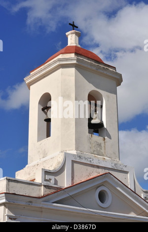 Church tower, Trinidad, Cuba - Stock Photo
