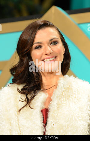Tokyo, Japan. 20th Feb 2013. Actress Rachel Weisz attends press conference for movie 'Oz: the Great and Powerful' - Stock Photo
