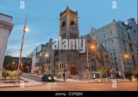 Museum of Fine Arts / Musée des Beaux Arts, Downtown Montreal, Quebec, Canada - Stock Photo