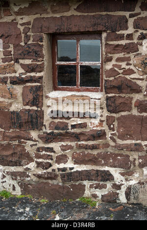 Salmon bothy museum at Stoer, Assynt, Sutherland, Scotland - Stock Photo