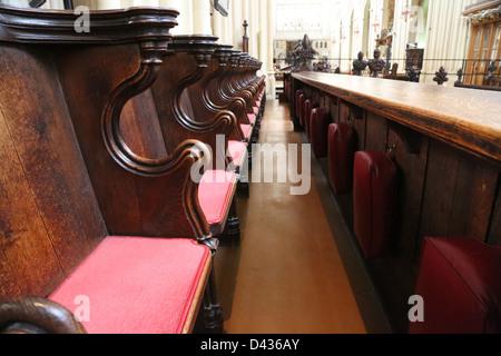 Bath Abbey, in Bath - Stock Photo