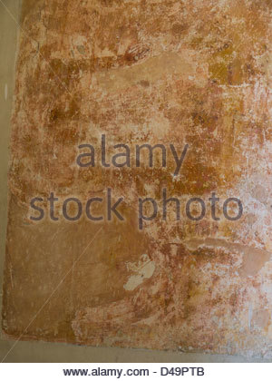 Hampshire England, Idsworth Church Interiors Paintings - Stock Photo