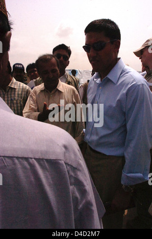 USAID Admin. Shah Consults With Pakistanis - Stock Photo