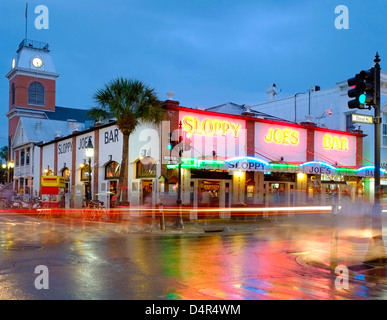 Sloppy Joe's Bar, Key West, Florida, America - Stock Photo