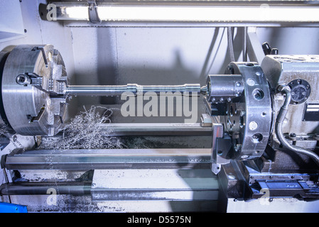 Close up of machinery in factory - Stock Photo