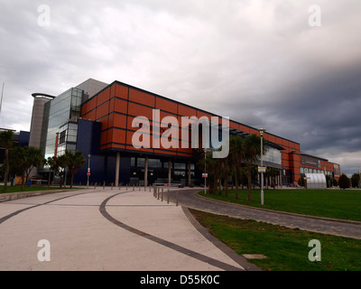 Odyssey Complex In Belfast's Titanic Quarter Northern Ireland - Stock Photo
