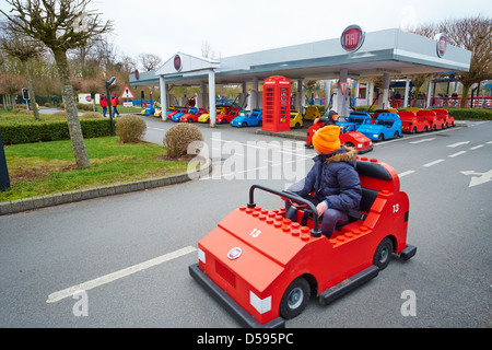 Driving School Legoland Windsor UK - Stock Photo