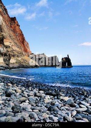 Roque de la Bonanza, Hierro, Canary Islands, Spain - Stock Photo