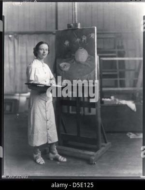 Tosca Olinsky, American painter, 1909-1984 - Stock Photo