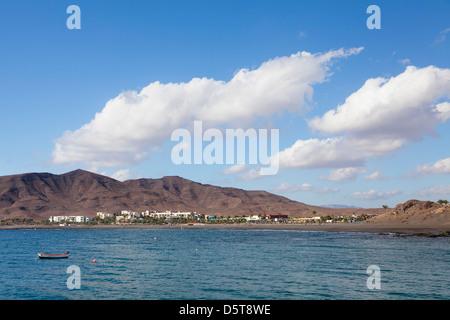Bay of Las Playitas, Fuerteventura, Canary Islands, Spain - Stock Photo