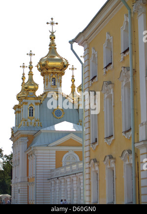 The Palace Church at the Peterhof Palace,St.Petersburg - Stock Photo