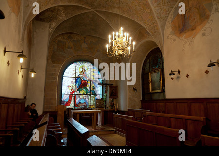 Krakow, Poland, in the chapel of Corpus Christi Basilica - Stock Photo
