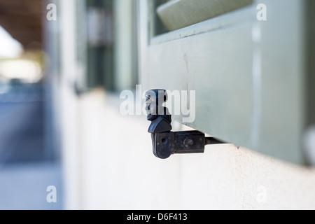 Windows holder in 'Hatachana Tel Aviv' - Stock Photo