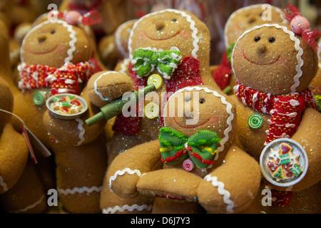 Christmas toys, England, United Kingdom, Europe - Stock Photo