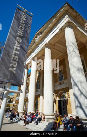Saatchi Gallery Duke of York HQ Kings Road Chelsea London UK - Stock Photo