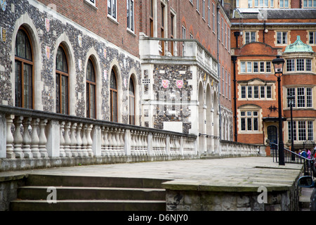 Westminster School private public Dean's Yard Abbey precincts - Stock Photo