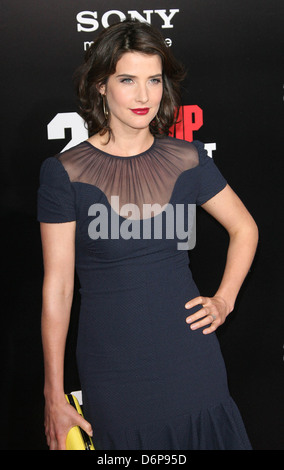 Cobie Smulders Los Angeles Premiere of '21 Jump Street' held at the Grauman's Chinese Theater - Arrivals Los Angeles, - Stock Photo