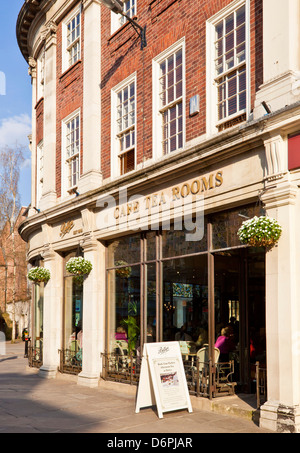 Betty's tea room St Helens Square City centre York North Yorkshire England UK GB EU Europe - Stock Photo