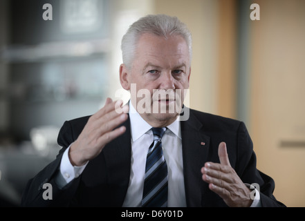 Berlin, Germany, Ruediger Grube, CEO of Deutsche Bahn AG and DB Mobility Logistics AG - Stock Photo