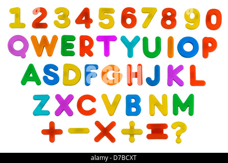 Child's ABC QWERTY - Stock Photo