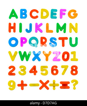 Child's ABC Letters - Stock Photo