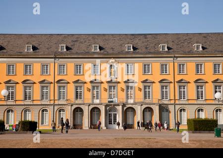 Kurfuerstliches Schloss (Electoral Prince's Castle), main building of the University of Bonn, North Rhine-Westphalia, - Stock Photo