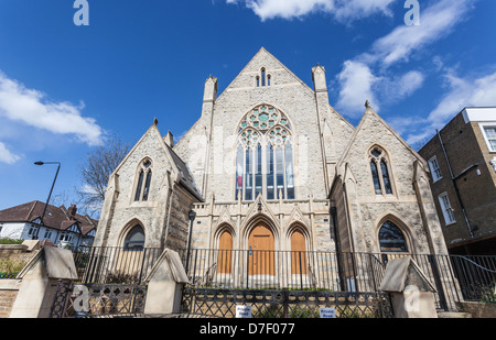 Highgate Road Chapel, Chetwynd Rd, London Borough of Camden, NW5 1BU - Stock Photo