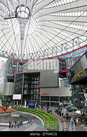 The Sony Center am Potsdamer Platz in Berlin - Stock Photo