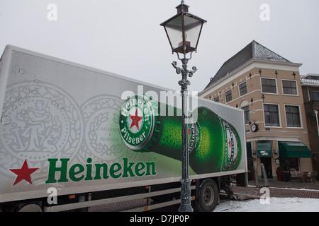 heineken truck in the netherlands - Stock Photo