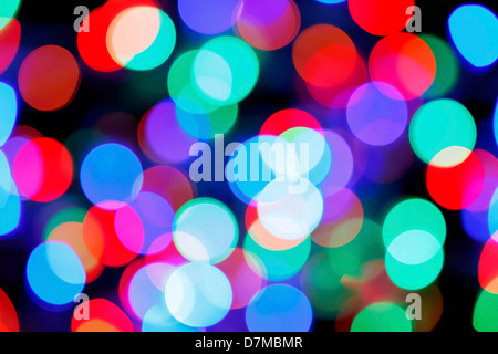 Coloured lights - Stock Photo