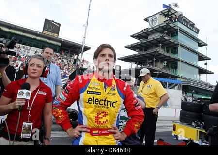 Indianapolis, Indiana, USA. 18th May, 2013. Indycar, Round 5, Indianapolis, Indy 500 , IN, USA, May 17-27 2013, - Stock Photo