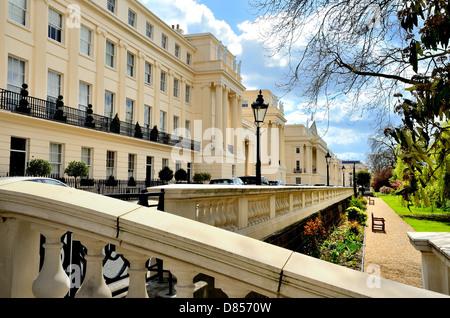 Cumberland Terrace Regents Park London UK - Stock Photo