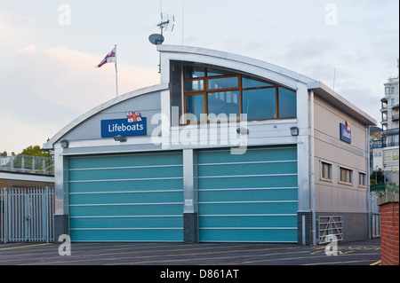 New lifeboat house in Southend on sea. - Stock Photo