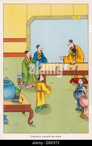 Confucius 551 479 Bc - Stock Photo