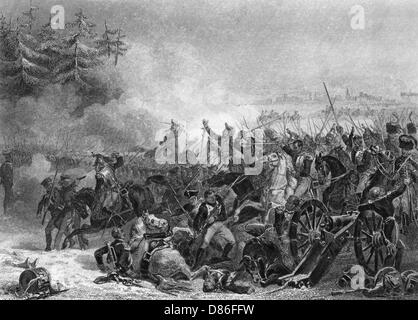 Battle Of Eylau Charge Of The Cuirassiers - Stock Photo