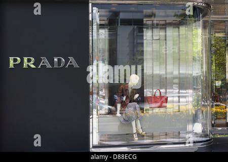 Prada Store - Stock Photo