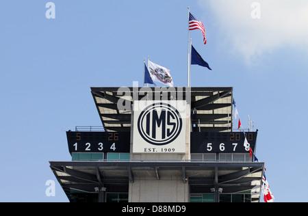 Indianapolis Motor Speedway Pagoda - Stock Photo