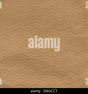 Brown cardboard paper useful as a background - Stock Photo
