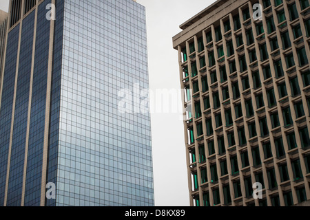 Contemporary office building in Brussels - Stock Photo