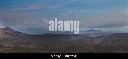 wasteland landscape, Shkodra, Montenegro - Stock Photo
