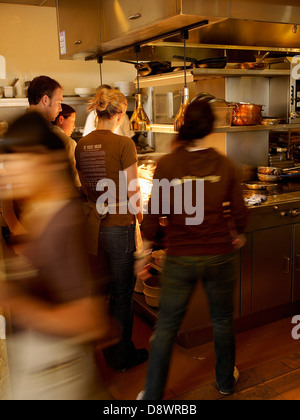 Waiters at  The Publican restaurant - Stock Photo