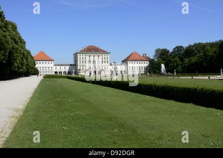 Nymphenburg Palace, Munich, Bavaria, Germany, 2011 - Stock Photo