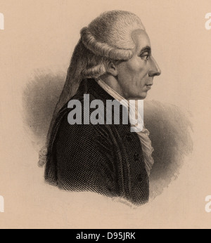 Jean Sylvain Bailly (1736-1793) French astronomer and politician. President of National Assembly Mayor of Paris - Stock Photo
